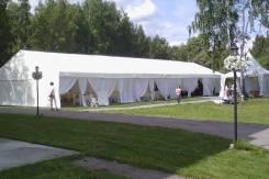 Аренда шатров, павильонов.