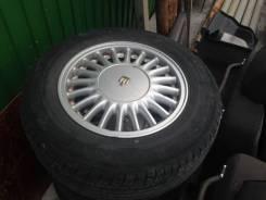 Комплект недорогих колес на Toyota Crown. 7.0x15 5x114.30 ET50 ЦО 59,1мм.