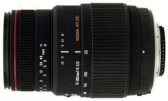 Объектив Canon Sigma APO DG AF 70-300mm F4-5.6 macro. +блэнда. Доставка. Для Canon EF и EF-S, диаметр фильтра 58 мм