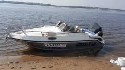 Grizzly 580 Cruiser. Год: 2013 год, длина 5,80м., двигатель подвесной, 140,00л.с., бензин