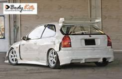 Задний бампер Feels для Honda Civic 96-00 HB EK