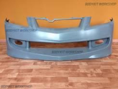 Передний бампер Mugen+маски ПТФ для Honda Accord CL9 CL7