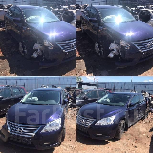 Nissan Sentra. 2015 цвет Синий двс 1.6 мкпп ПТС оригинал