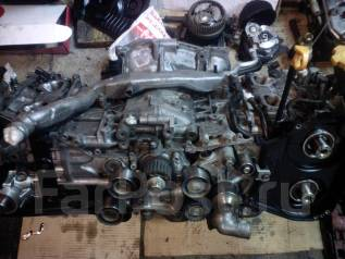 Двигатель в сборе. Subaru Forester Двигатель EJ255
