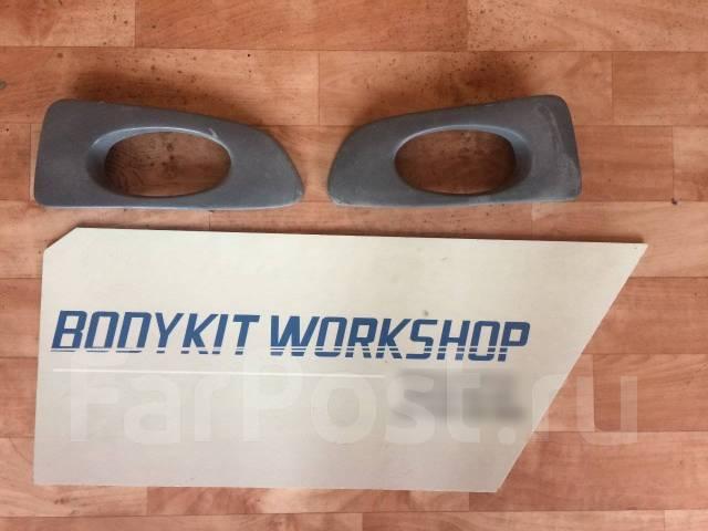 Передний бампер Mugen+маски ПТФ для Honda Accord CL9 CL7. Honda Accord, CL7, CL9