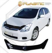 Дефлектор для защиты передней части капота Toyota Wish (серый) 2003г. (174) (174) С
