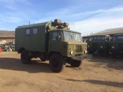 ГАЗ 66. Газ-66 (КУНГ) с Резерва, 4 500 куб. см., 9 999 кг.