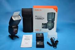 Фотовспышка Godox Ving V850 (мануальная, для Canon и Nikon)