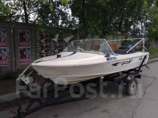Моторная лодка. Год: 2011 год, длина 5,50м., двигатель подвесной, 50,00л.с., бензин