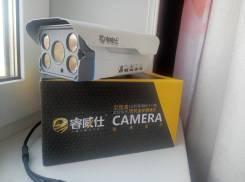 IP HD камера. Менее 4-х Мп, с объективом