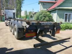 Dennison. Полуприцеп контейнеровоз 2004 г., 34 300 кг.