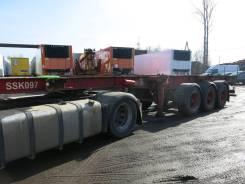 Krone SDC27. Полуприцеп контейнеровоз SDC 2004 г., 33 900 кг.