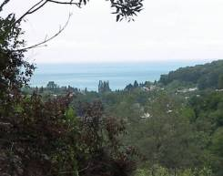 Участок 8 соток с видом на море. 800 кв.м., собственность, электричество, вода, от агентства недвижимости (посредник)