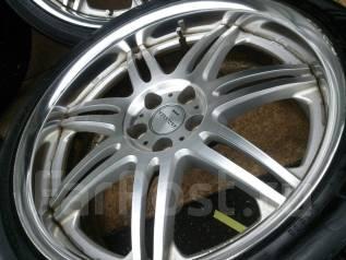 Лето R18 225/40 Work Vw Audi St200h Scoda. 7.5x18 5x100.00 ET30 ЦО 57,1мм.