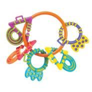 Прорезыватели разноцветные на кольце, 5 шт. (my first) Playgro -