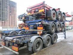 Dennison. Полуприцеп контейнеровоз 2003 г., 33 900 кг.