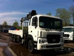 Hyundai HD250. с КМУ HIAB 190T, 11 149 куб. см., 15 000 кг.