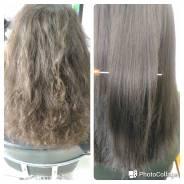Ботокс, Кератин, Серицин для волос