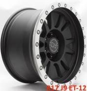 Black Rhino Tanay. 9.0x17, 6x139.70, ET-12, ЦО 110,1мм.