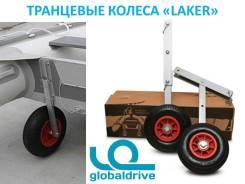 """Транцевые колеса """"Laker"""" из морского алюминия."""