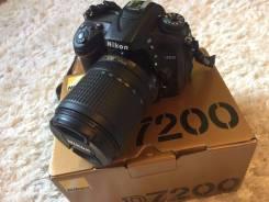 Nikon D7200 Kit. 20 и более Мп