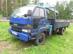 Isuzu Forward. Продается кран-борт , 7 127 куб. см., 4 000 кг., 9 м.