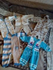 Одежда для новорожденных. Рост: 60-68, 68-74 см