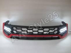 Решетка радиатора. Toyota Hilux Pick Up, GUN125L, GUN126L Toyota Hilux