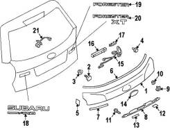 Эмблема. Subaru Forester, SJG Двигатель EJ20E. Под заказ