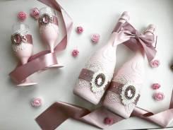 Декор шампанского для вашей свадьбы