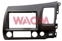 Консоль панели приборов. Honda Civic, EF3, FN1, FD3, EF5, EF1, EF2, FD2, FK2, EJ7, FD1 Двигатели: ZC, R18A2, DAAFD3, D13B, D15B, K20A, D16A, R18A, LDA...