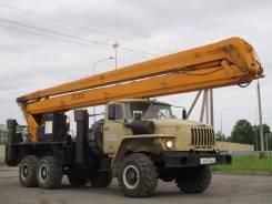 Урал. автовышка 28 м, 28 м.
