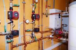 Монтаж системы отопления. Теплые полы