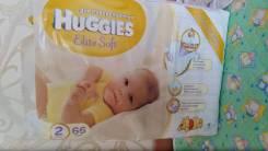 Huggies. 4-7 кг 66 шт. Под заказ