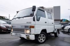 Toyota Hiace. Бортовой, двухкабинный, не конструктор, 2 400 куб. см., 1 250 кг.