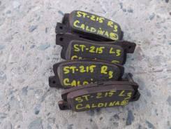 Накладка тормозная. Toyota Caldina, ST215G