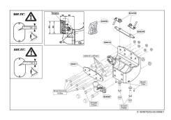 Фаркопы. Lexus LX570 Toyota Land Cruiser Двигатель F