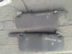 Козырек солнцезащитный. Toyota Corona, ST190, CT190, AT190 Двигатели: 2C, 4SFE, 2CT, 4AFE, 2CIII