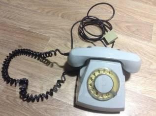 Дисковый телефон СССР винтаж. Оригинал