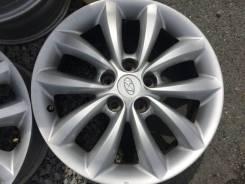 Hyundai. 7.0x17, 5x114.30, ET38, ЦО 67,1мм.