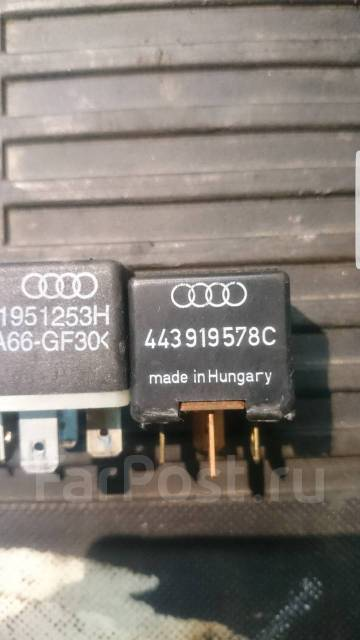 Реле. Audi: A6 allroad quattro, S6, S8, V8, Cabriolet, S4, Coupe, 80, 90, A8, RS6, A4, A6, 100, 200, RS4 Двигатели: AKE, APB, ARE, BAS, BAU, BCZ, BEL...