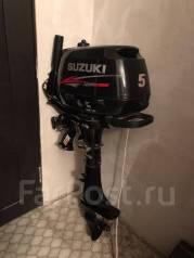Suzuki. 5,00л.с., 4х тактный, бензин, нога S (381 мм), Год: 2011 год