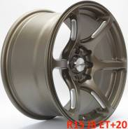 "Advan Racing RGIII. 8.0x15"", 4x100.00, 4x114.30, ET20, ЦО 73,1 мм."