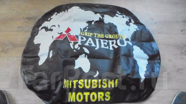 Чехол для запасного колеса. Mitsubishi: Lancer Cedia, Airtrek, Lancer, Pajero Pinin, RVR, Pajero iO Двигатели: 4G93, 4G94