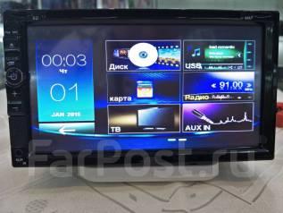 Авто магнитола Longway 6926T- SD TV USB, DVD, MP3 Блютуз 178 на100мм