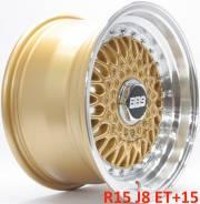 BBS Super RS. 8.0x15, 4x100.00, 4x114.30, ET15, ЦО 73,1мм.
