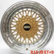 BBS Super RS. 9.0x15, 4x100.00, 4x114.30, ET9, ЦО 73,1мм.