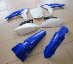 Комплект пластика Polisport YAMAHA YZ250F 10-13 Сине белый 90272