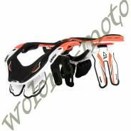 Защита шеи Leatt GPX 5.5 Размер:L/XL Оранжево-бело-черный 1014020011