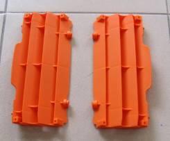 Жалюзи радиатора Polisport KTM SX125/250;SXF250/450/505 07-15;SX150 Оранжевый 8455300002